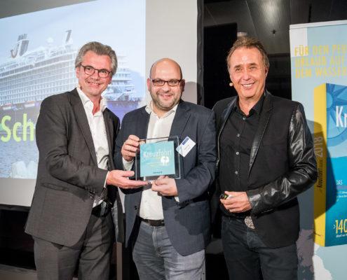 Kreuzfahrt Guide Award 2017 für das beste Sport- & Wellnessangebot: Mein Schiff 6