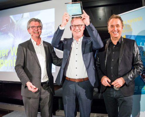 Kreuzfahrt Guide Award 2017 Sonderpreis der Jury: Meyer Werft Papenburg