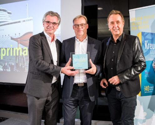 Kreuzfahrt Guide Award 2017 für das beste Schiff für Familien: AIDAprima