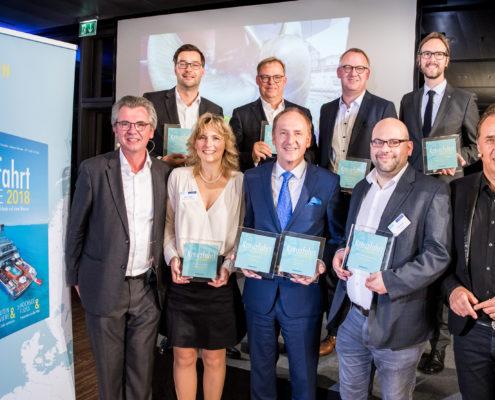 Die Gewinner der Kreuzfahrt Guide Awards 2017