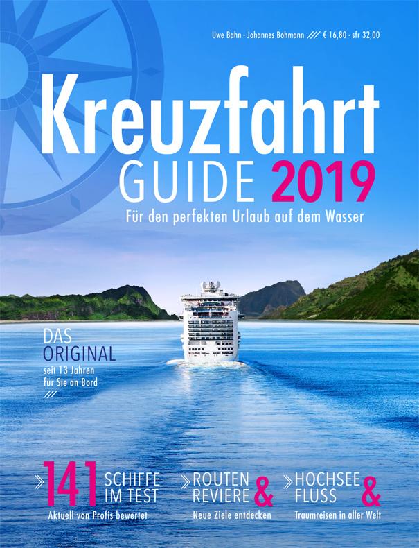 Kreuzfahrt Guide 2019: Alles für den perfekten Urlaub auf dem Wasser (Titelseite)